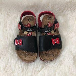 *SOLD* Minnie Mouse Velcro Sandals Disney Size 12